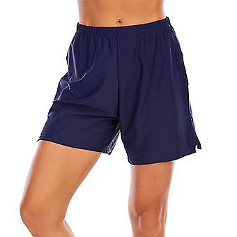 Kvinner Boyshorts Swim Boxer Shorts Bikini Bunner Boardshorts