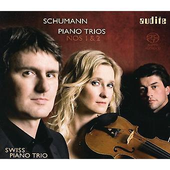 R. Schumann - Schumann: Piano Trios Nos. 1 & 2 [SACD] USA import
