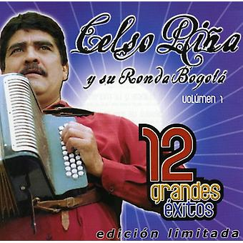 Celso Pina - Celso Pina: Vol. 1-12 Grandes Exitos [CD] USA import