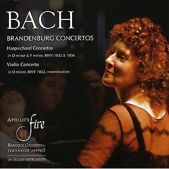 J.S. Bach - Bach: Brandenburg Concertos; Harpsichord Concertos; Violin Concerto [CD] USA import