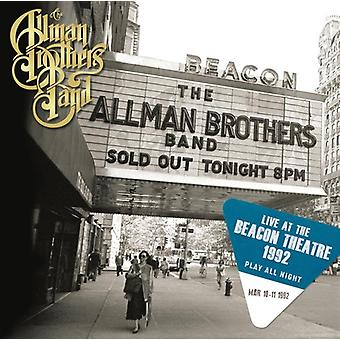 Allman Brothers Band - Play All Night: Live på Beacon Theat [CD] USA import