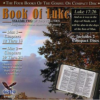 Book of Luke - Chapters 12-24 [CD] USA import