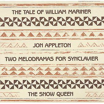 Jon Appleton - dos Melodramas para la importación de los E.e.u.u. de Synclavier [CD]
