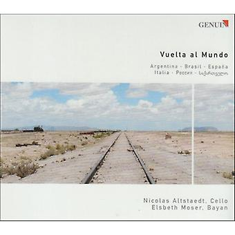 Piazzolla/Villa-Lobos/Falla; - Vuelta Al Mundo [CD] USA import