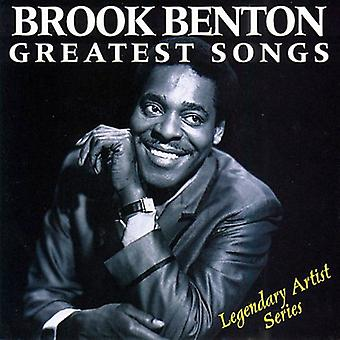 Brook Benton - Greatest Songs [CD] USA import