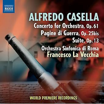 Alfredo Casella - Alfredo Casella: Konsert for orkester; Pagine Di Guerra; Suite [DVD] USA import