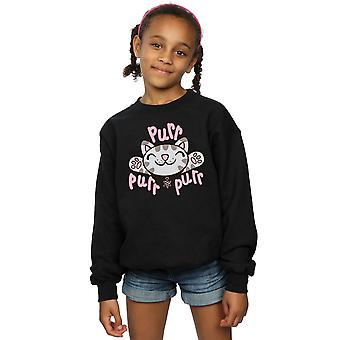 Big Bang Theory Girls Soft Kitty Purr Sweatshirt