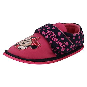 Girls Casual Minnie Mouse Slippers