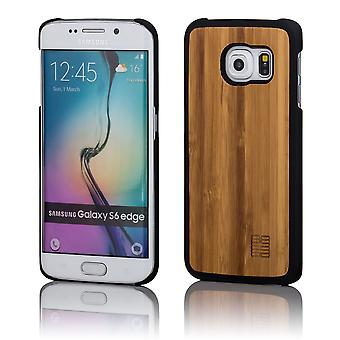 32nd Wooden Back case for Samsung Galaxy S6 Edge (SM-G925) - Bamboo