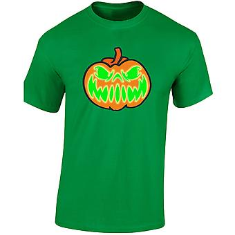 Grinning Jack Glow In The Dark Halloween Fancy Dress Kids Unisex T-Shirt 8 Colours (XS-XL) by swagwear