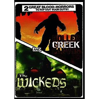 Horror: Holler Creek Canyon & the Wickeds [DVD] USA import