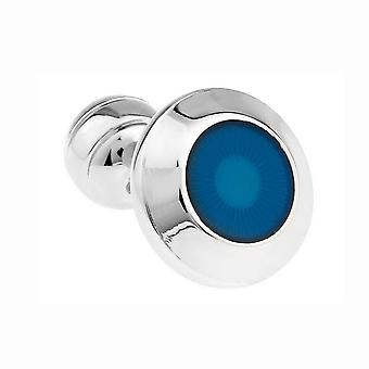 Mens Ladies Shirt Cufflinks Exclusive Turquoise Button Ball Return