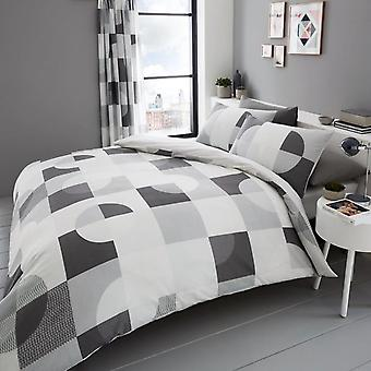 Alexa Geometric Duvet Cover Set