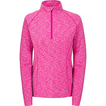 Intrusion Womens/dames Olina Half Zip Top actif mèche à manches longues