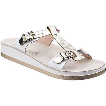 Fantasy Womens/Ladies Jessamine Buckle-Up Leather Summer Sandal