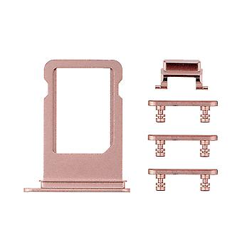 Rose Side Buttons Set with SIM Tray For iPhone 7