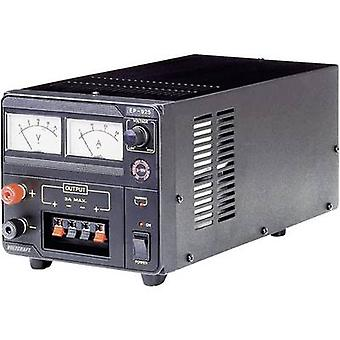 VOLTCRAFT EP-925 Bench PSU (adjustable voltage) 3 - 15 V DC 2 - 25 A 375 W No. of outputs 1 x