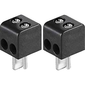 BKL électronique 0205018 Audio jack Plug, droite nombre de broches: 2 Black 2 PC (s)