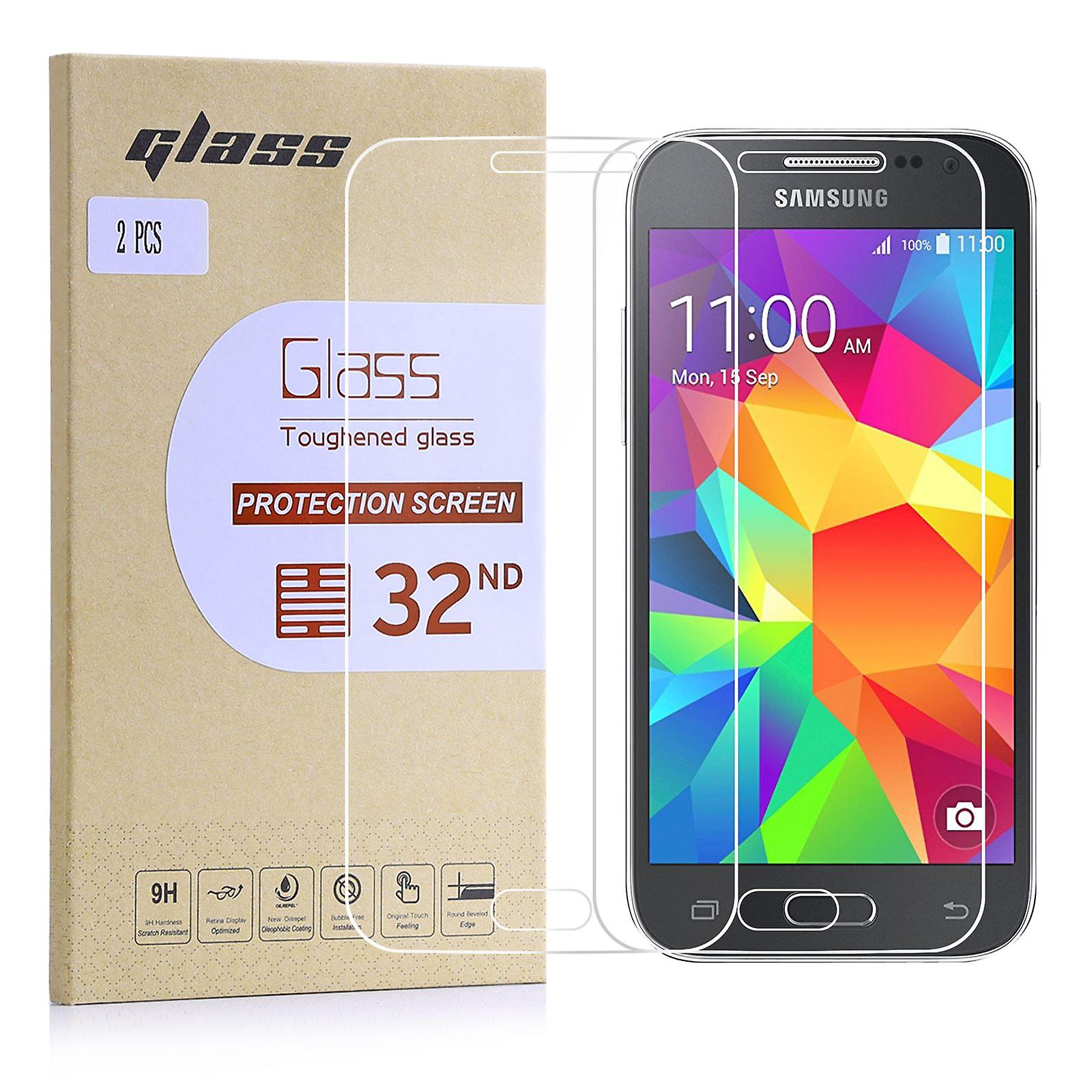 Extra Armoured Tempered Glass for Samsung Galaxy Core Prime - 2 Pack