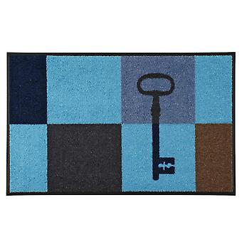 mycie + suche niebieski klucz kwadratów 50 x 75 cm