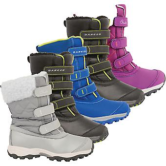 Dare 2b Boys & Girls Skiway Jnr Waterproof Snow Boots