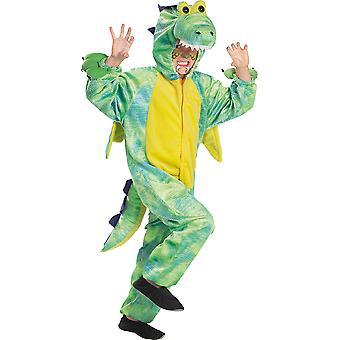 Drache Kinder Kostüm Dragon Overall Fantasy Karneval Tierkostüm