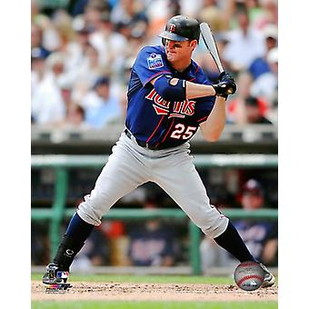 Jim Thome 2010 Action Photo Print