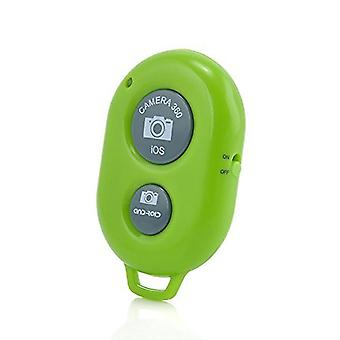 Wireless Bluetooth Camera Shutter Remote Control For Panasonic Toughpad FZ-A1 (Green)