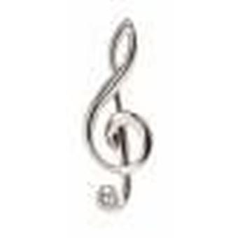 דייוויד ואן הייגן הערה מוסיקה עניבה Tac-כסף
