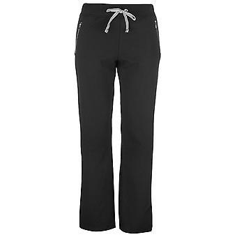 Full Circle Womens Zip Jogpants Fleece joggen bodems broek broek opleiding