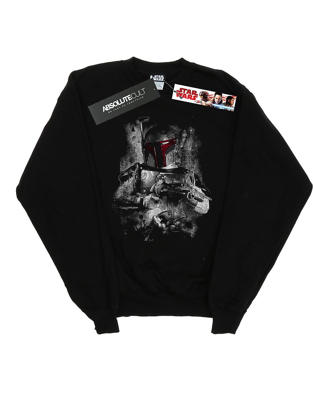 Star Wars Girls Boba Fett Distressed Sweatshirt