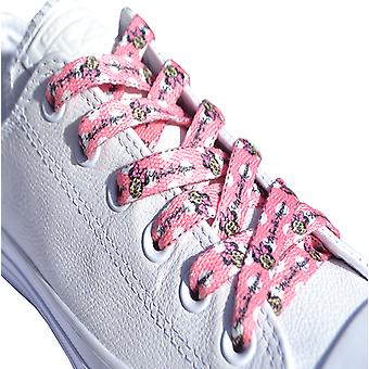 Pink Minnie Mouse Polka Dot Laces