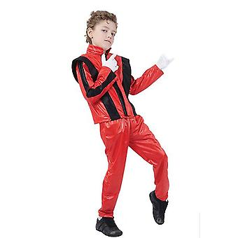 Superstar. Red Jacket/Trousers, Small.
