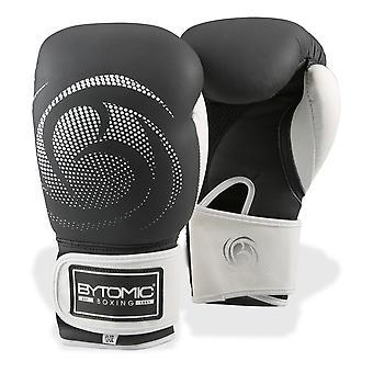 Legado bytomic cuero guantes de boxeo negro