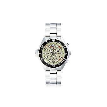 CHRIS BENZ-Diver horloge-DEPTHMETER CHRONOGRAAF 200M-CB-C200-N-MB