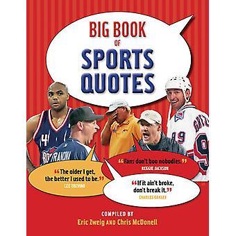 Big Book of Sports cite par Eric Zweig - Chris McDonell - 9781554076