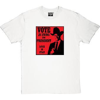 Rösta JR Ewing för President mäns T-Shirt