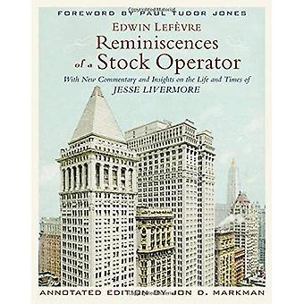 Erinnerungen an einen Stock Operator, kommentierten Edition