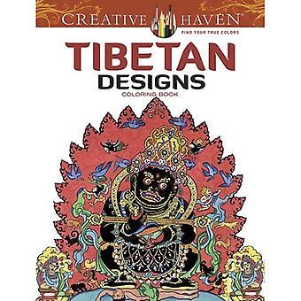 Tibetaanse ontwerpen creatieve Haven Coloring boek (creatieve Haven kleurboeken)