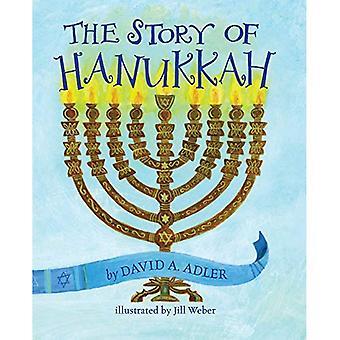 L'histoire de Hanukkah [cartonné]