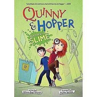 Partners in slijm (Quinny & Hopper boek 2) (Quinny & Hopper)