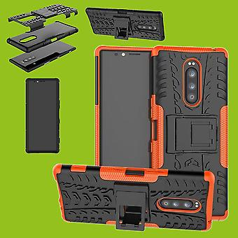 Hybrid case 2 piece SWL robot Orange for Sony Xperia 1 6.5 inch case sleeve cover protection