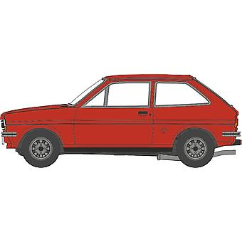 Oxford Diecast 76FF006 Ford Fiesta Mk1 Terracotta