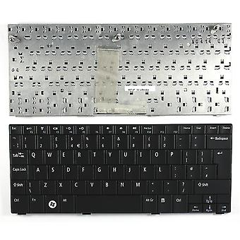 لوحة مفاتيح كمبيوتر محمول استبدال تخطيط المملكة المتحدة 10 أسود من Dell