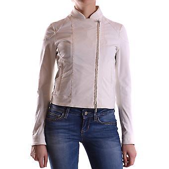 Brema Ezbc146011 Women's White Cotton Outerwear Jacket