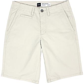 RVCA menns VA sport Sayo casual Chino shorts-sølv Bleach hvit