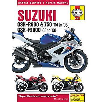 Suzuki GSX-R600/750 Motorcycle Repair Manual by Anon - 9781785213229