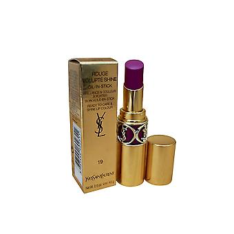 YSL Rouge Vulpte Shine Lipcolor 19 Fuchsia Denim 0.15 OZ