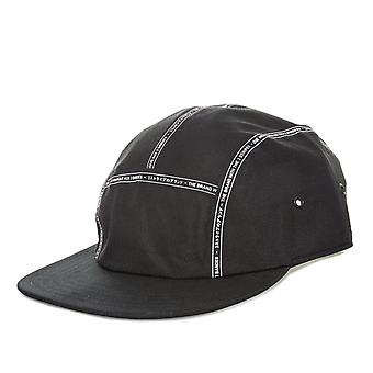 Mens adidas Nmd Cap In Black White- Flat Brim- Buckle Adjustable At Back- The