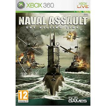 Naval Assault The Killing Tide (Xbox 360) - New